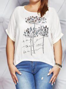 bluzki damskie duże rozmiary