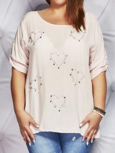 bluzki damskie duże rozmiar
